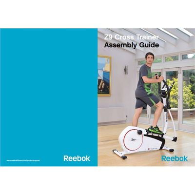 reebok step instruction manual
